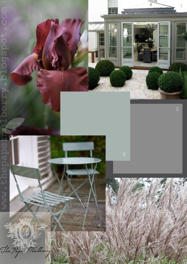 Garden Moodboard for inspiration