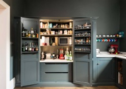 Lighted larder cabinet by DeVol