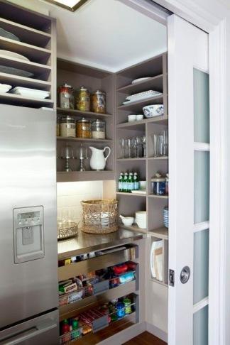 Sliding door to Butlers cupboard by Gallerie B