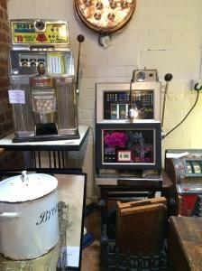 Vintage fruit machines