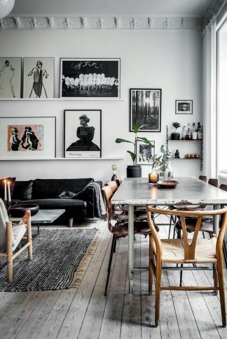 Chic understated Parisian apartment