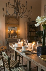 French Contry Dining Room