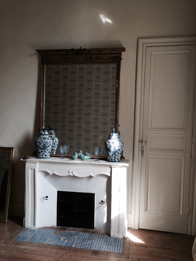 Blue Bedroom at Chateau Latigolle