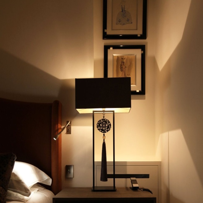 Contemporary table lamp by John Cullen Lighting