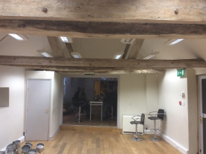 The Barns Interior before decorating