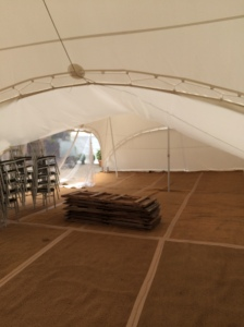 Before - Empty Marquee