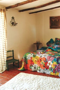 Brightly Coloured Bedspread By Anthropologie